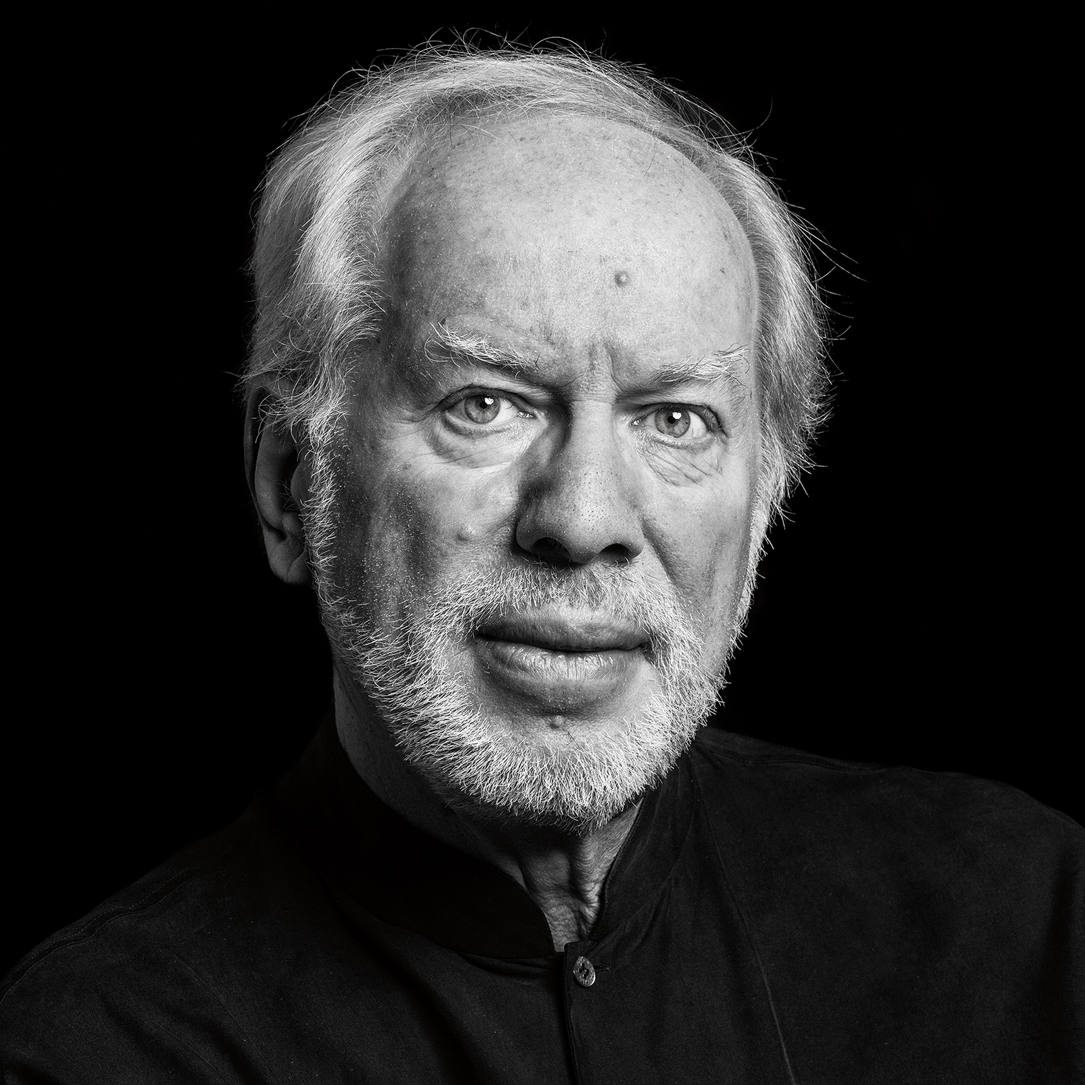 Portrait of violinist Gidon Kremer in Vilnius
