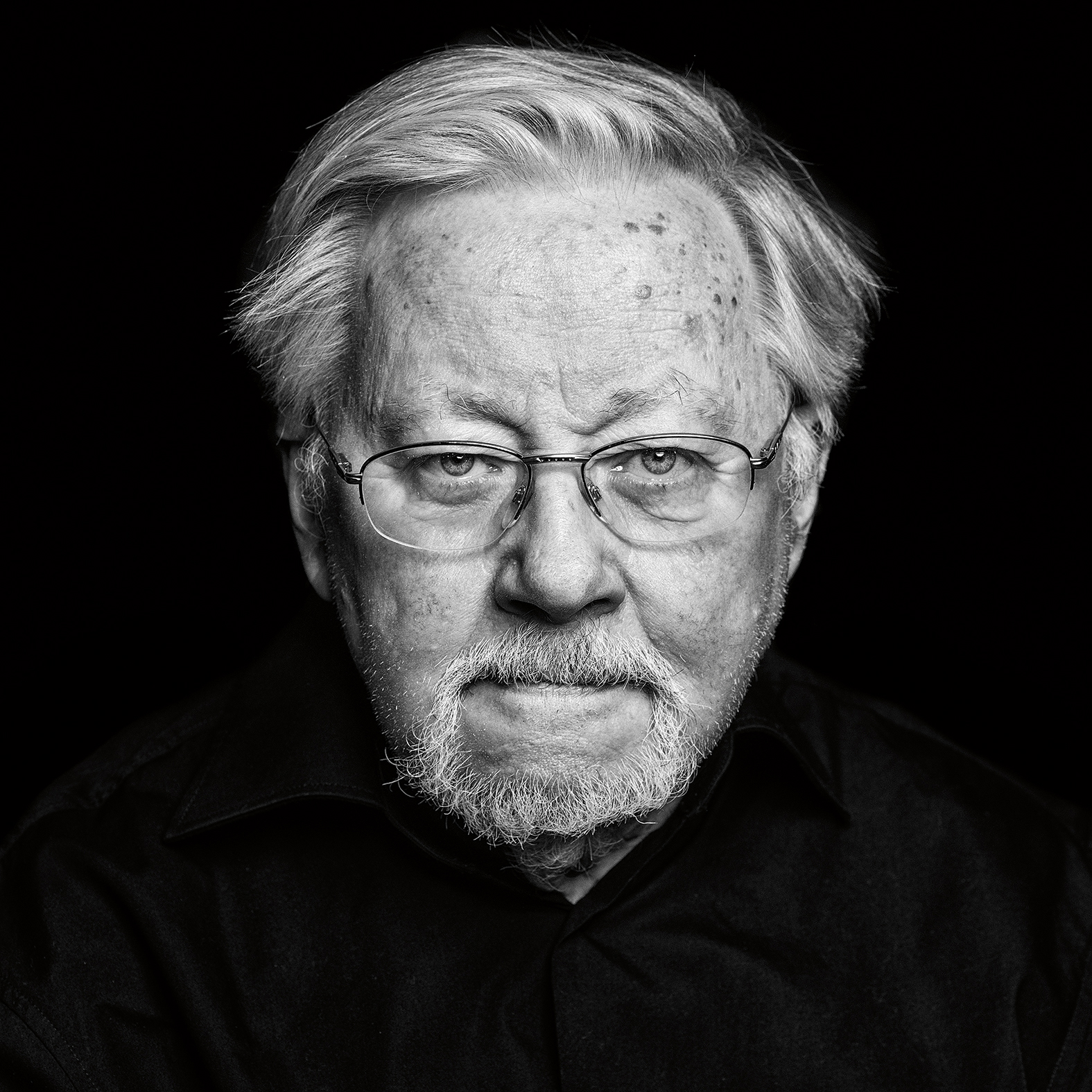 Photo of Vytautas Landsbergis in Lithuania